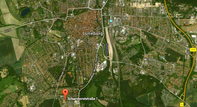 Lueneburg-aerial-view